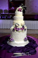 """Horizons Conference Center Wedding Cake"""